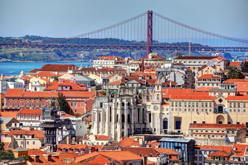 Lisbon Panoramic view of the center of Lisbon from the neighborhood of Alfama shutterstock_529753360.JPG
