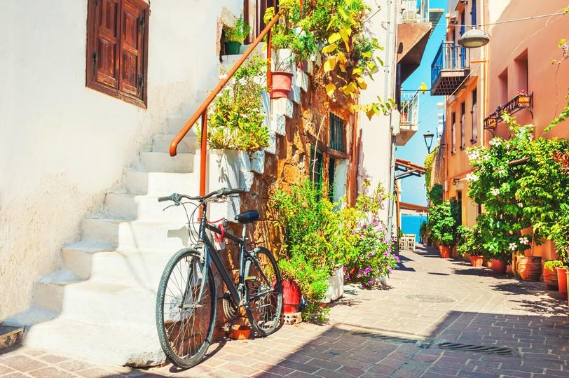 Chania street, Crete island, Greece. Summer landscape shutterstock_753253714.jpg