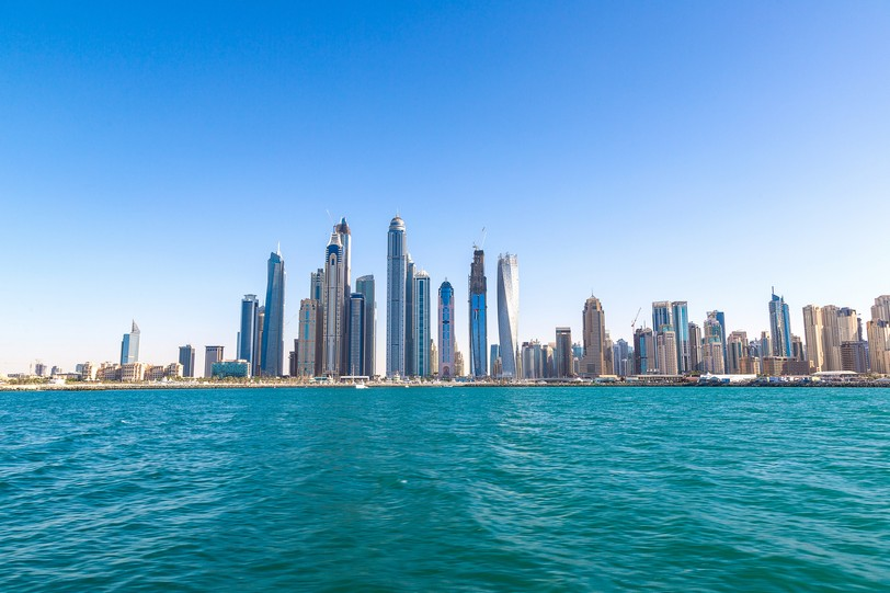 Dubai Marina in a summer day, United Arab Emirates shutterstock_412390987.JPG
