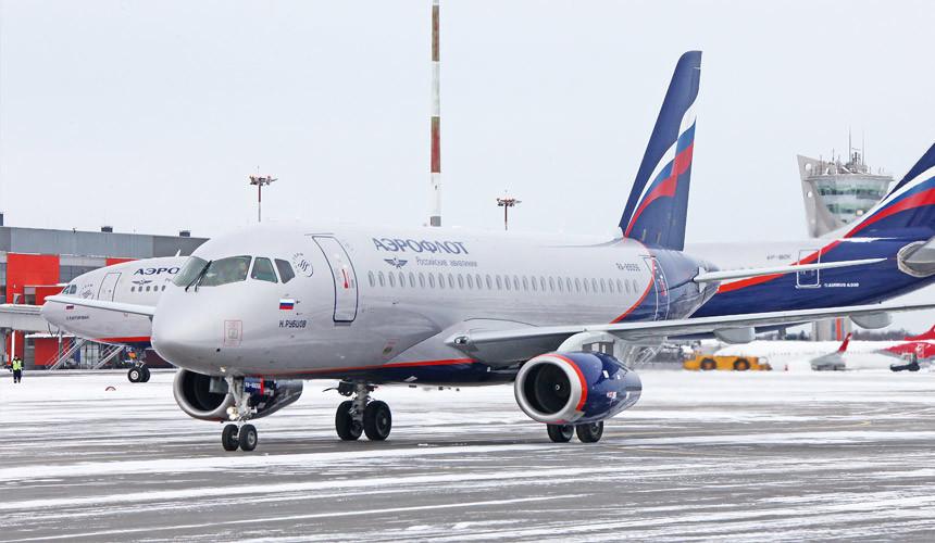 У «Аэрофлота» вышло из строя почти два десятка самолетов