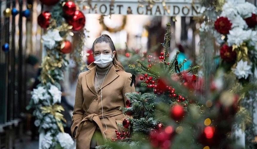 Французам в виде исключения разрешили погулять на Рождество и Новый год
