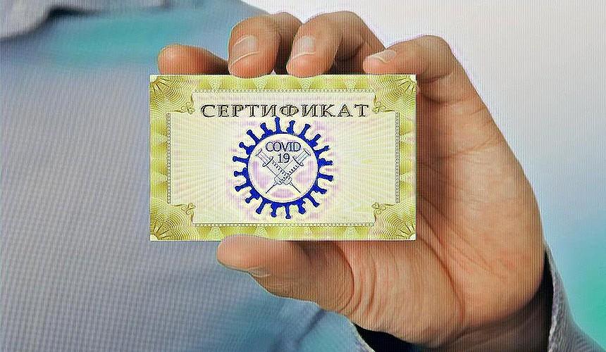 Владимир Путин оценил идею введения COVID-сертификатов