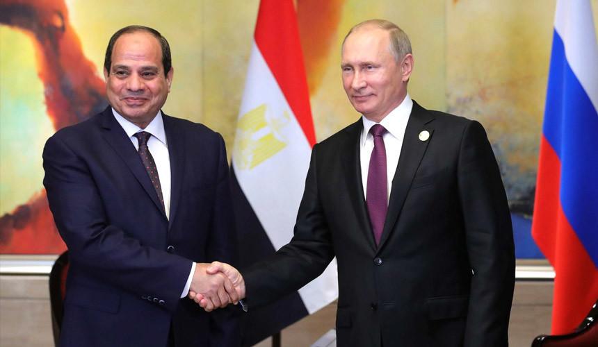 Владимир Путин подписал указ о возобновлении воздушных перевозок в Каир
