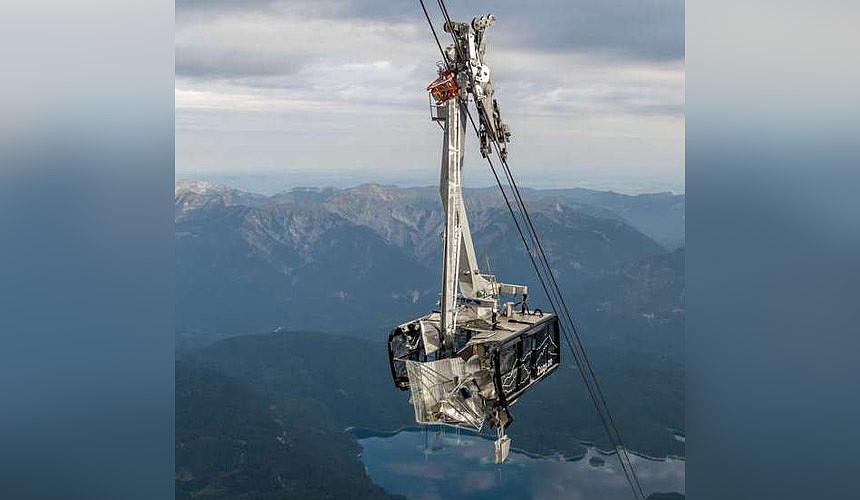 Популярный горнолыжный курорт Германии лишился подъемника