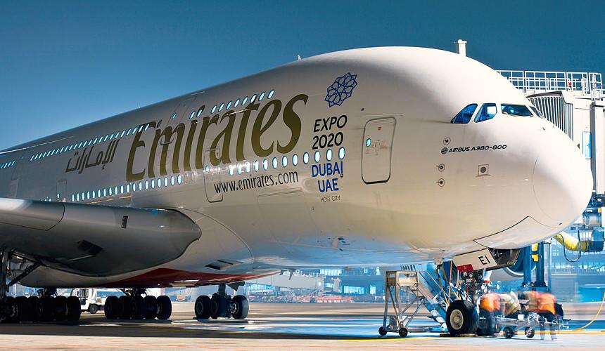 Emirates возобновляет полетную программу из Санкт-Петербурга в Дубай