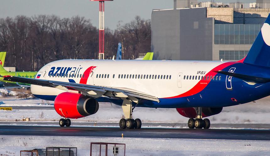 Ростуризм потребовал оттуроператоров не торговать путевки сперелетом Azur Air
