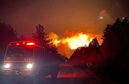 Лесные пожары в Анталье частично взяты под контроль
