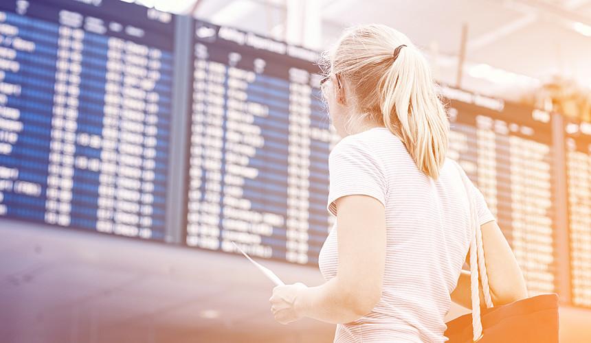 В расписании рейсов из Саньи возникли сбои