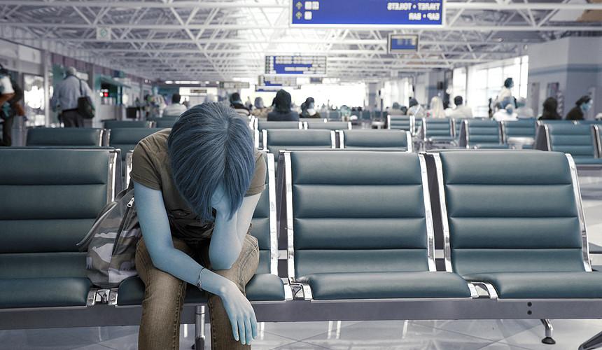 Россияне застряли в аэропорту Сеула