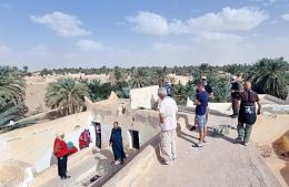 Ливия впервые за 10 лет приняла иностранных туристов
