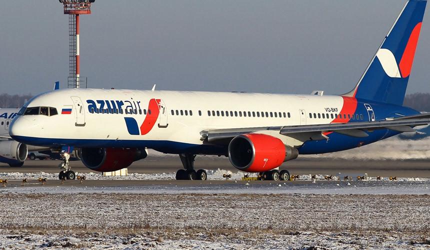 Рейс Azur Air из РФ совершил экстренную посадку вСША
