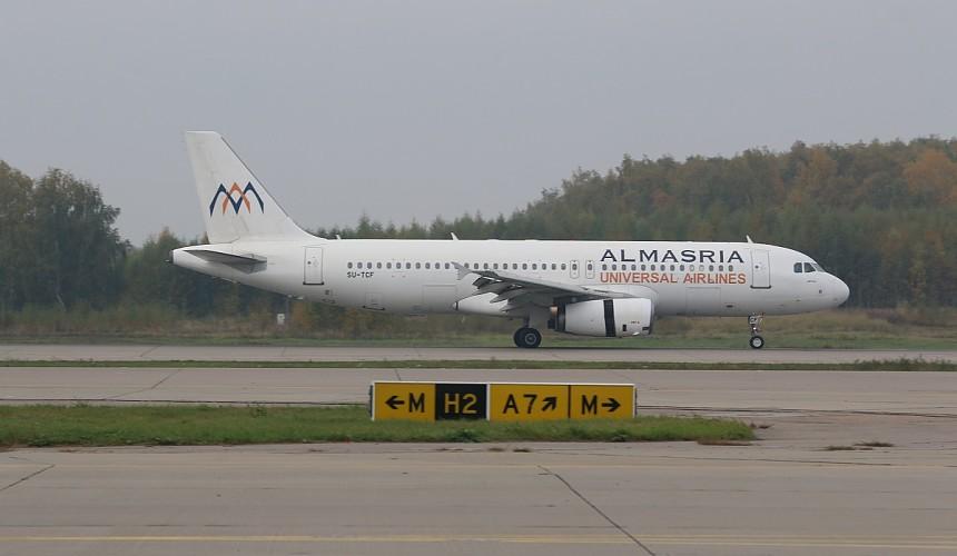 В Домодедово приняли первый рейс авиакомпании AlMasria