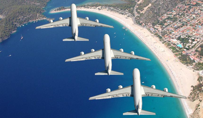 Авиабилеты в Турцию продолжают дешеветь