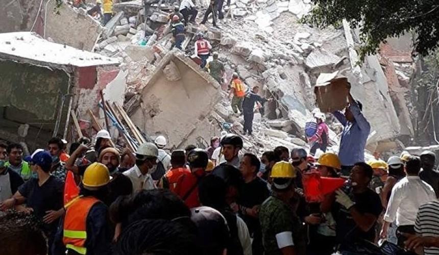 МИД: россияне не пострадали при землетрясении в Мексике