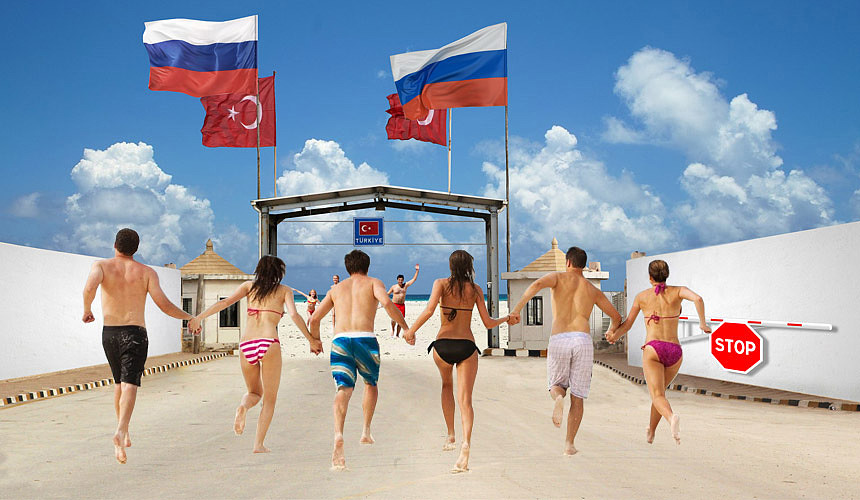 Жители Российской Федерации смогут ездить вТурцию повнутренним паспортам