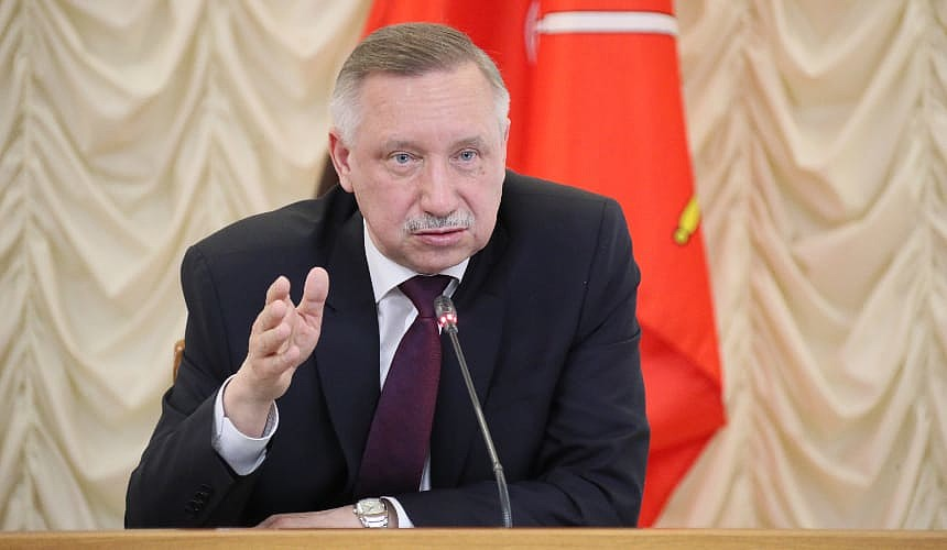 Губернатор Санкт-Петербурга заявил, что город близок к локдауну