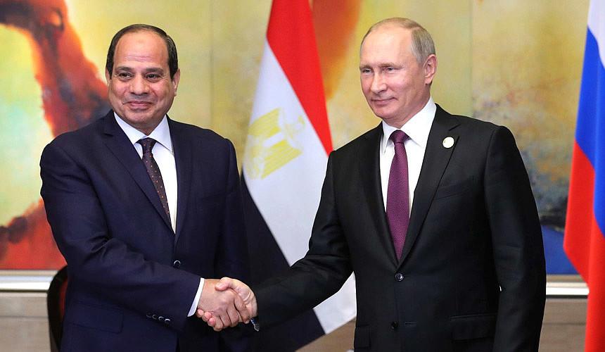 Владимир Путин встретится с президентом Египта