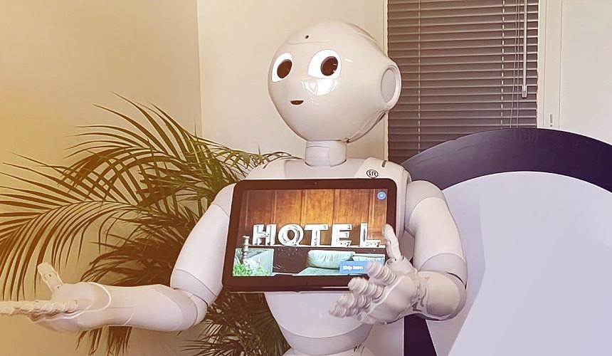 В Крыму обещают размещать туристов за 300 рублей с помощью робота