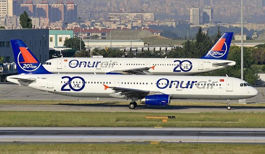 Onur Аir сдвинул старт полетной программы из России в Турцию