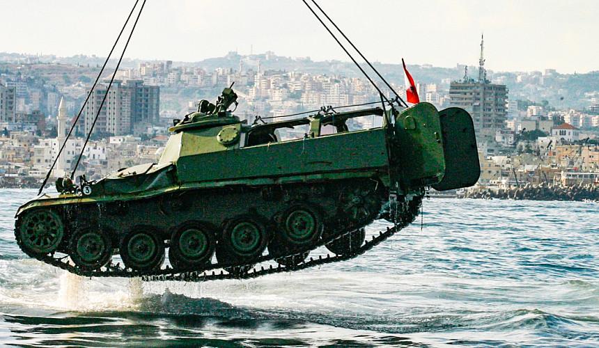 Ливан завлекает туристов танками