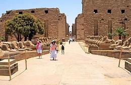 В Египте туристам открыли доступ к аллее баранов