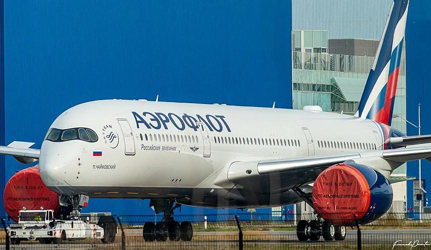 Стало известно, куда полетит первый Airbus А350 «Аэрофлота»