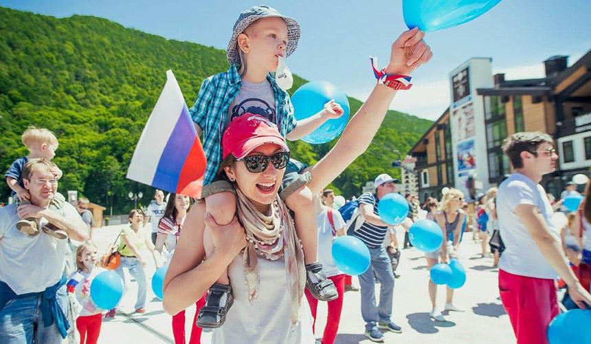 Россияне стали чаще ездить в Сочи на День России