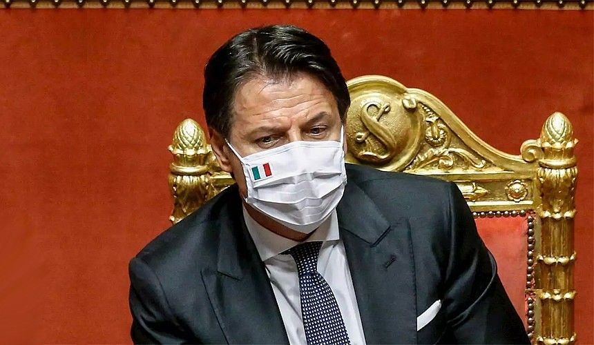 Das italienische Parlament erweiterte die Befugnisse der Notstandsregierung, um Beschränkungen aufzuerlegen oder aufzuheben