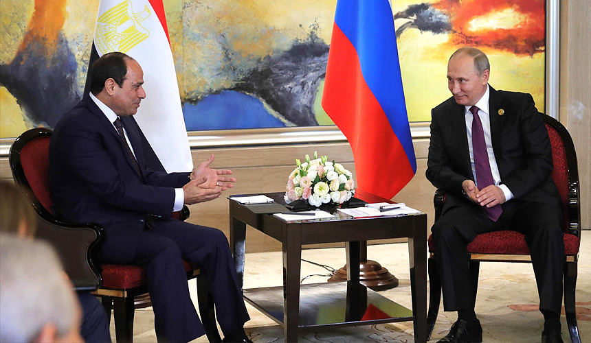 Российская Федерация  иЕгипет договорились на100%  восстановить авиасообщение между странами
