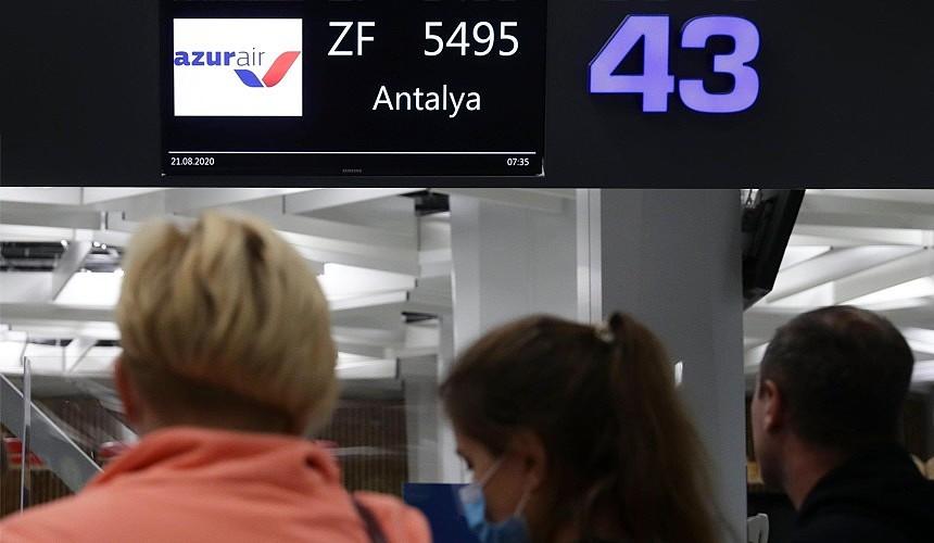 Первые чартеры в Турцию вылетели из Новосибирска и Казани