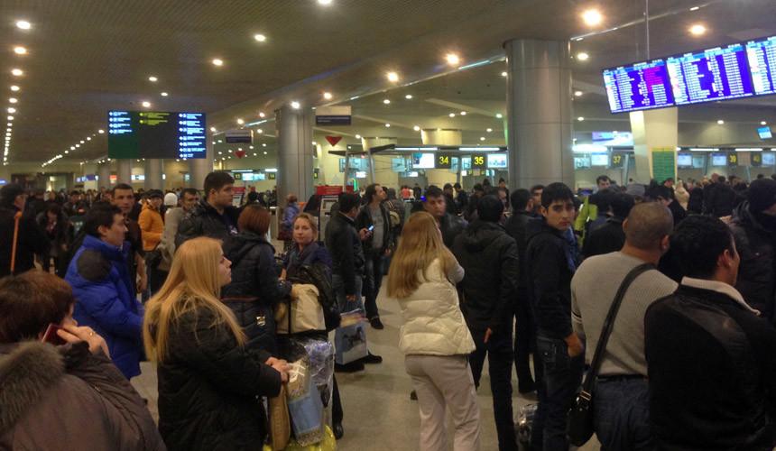 В аэропортах Москвы отменено более 20 рейсов