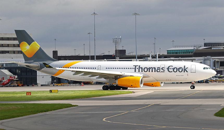 Туристический концерн Thomas Cook хочет избавиться от авиакомпании?
