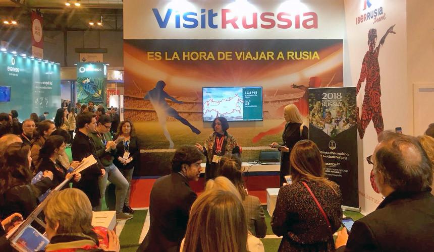 Стенды России на туристической выставке FITUR вызвали ажиотаж