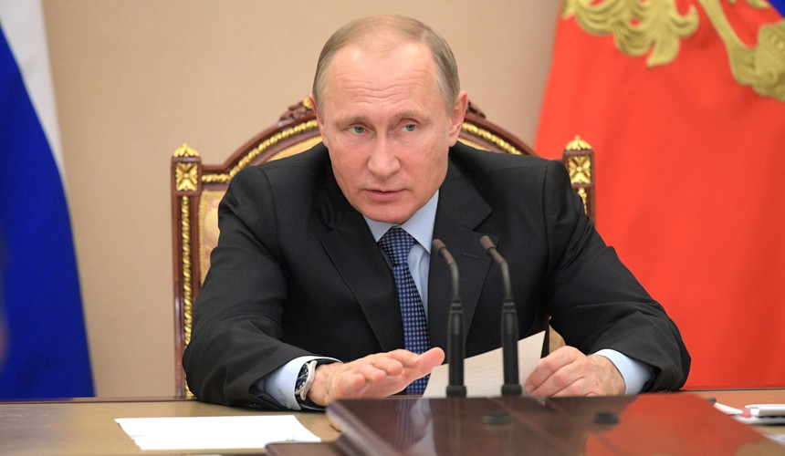 Путин подарил ижевской семье путевку в Сочи за 1,3 млн рублей