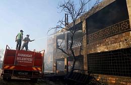 Русские в Турции помогают пострадавшим от пожаров