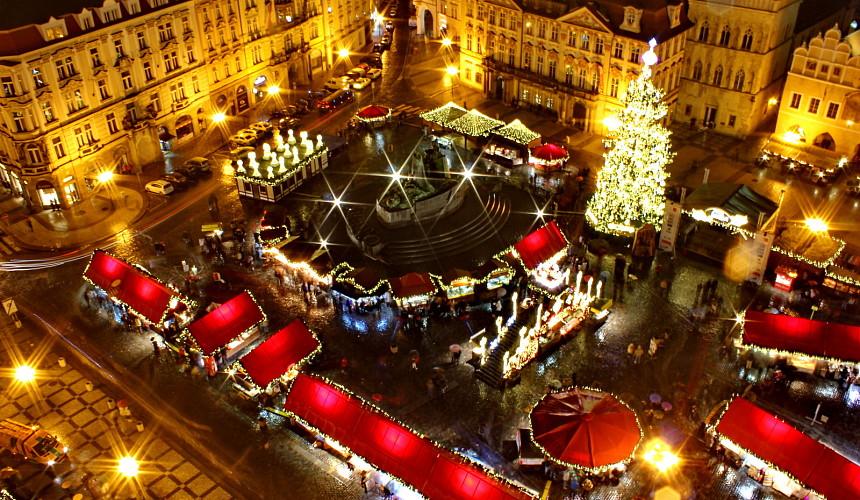Рождественская Прага по цене ноутбука