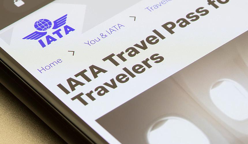 S7 на рейсах в Германию будет тестировать IATA Travel Pass