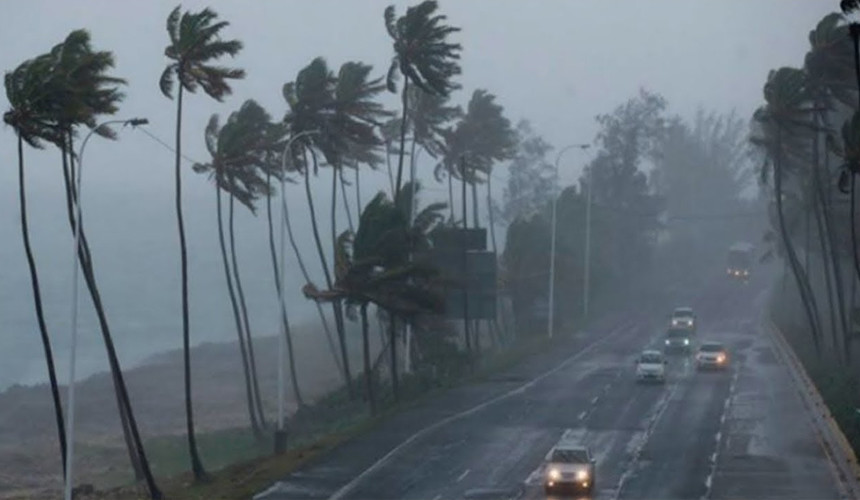 Российские туристы пережидают ураган «Ирма» в Доминикане
