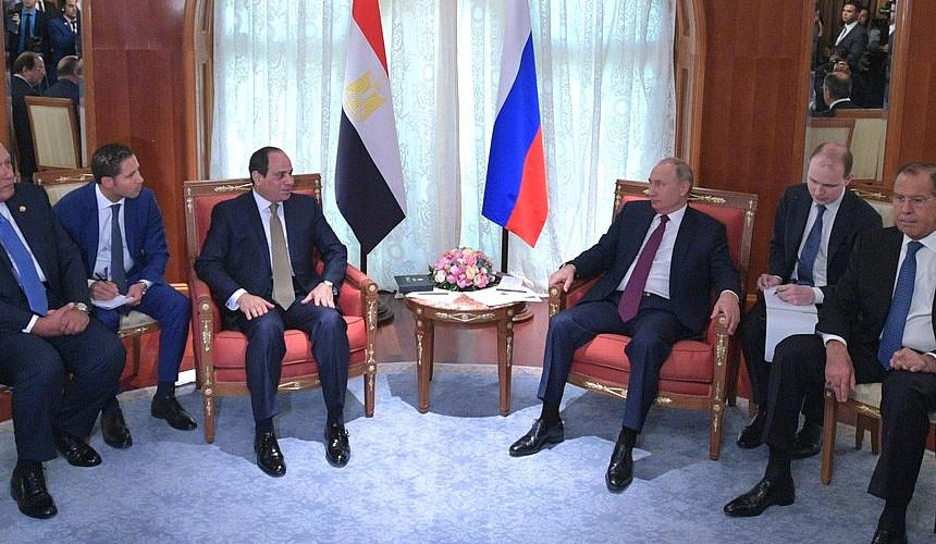 Владимир Путин сообщил о скором возобновлении чартеров в Египет