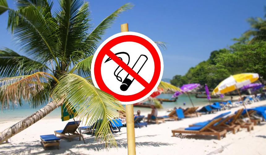 Офис по туризму Таиланда: с нового года курение запретят на всех пляжах