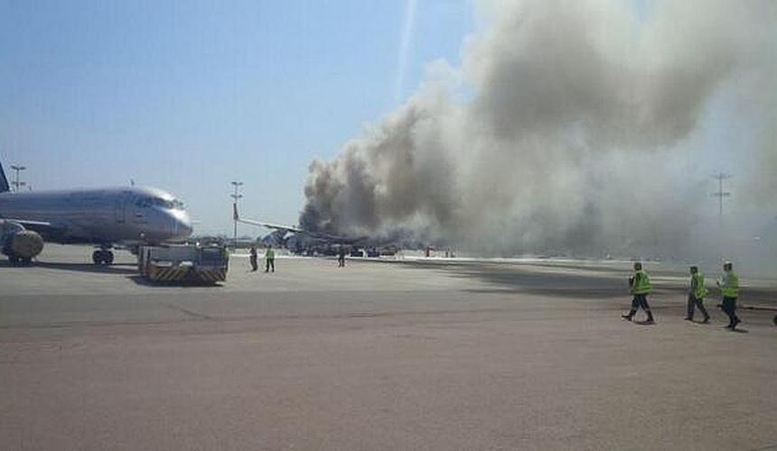 При посадке горящего самолета «Аэрофлота» погибли пассажиры